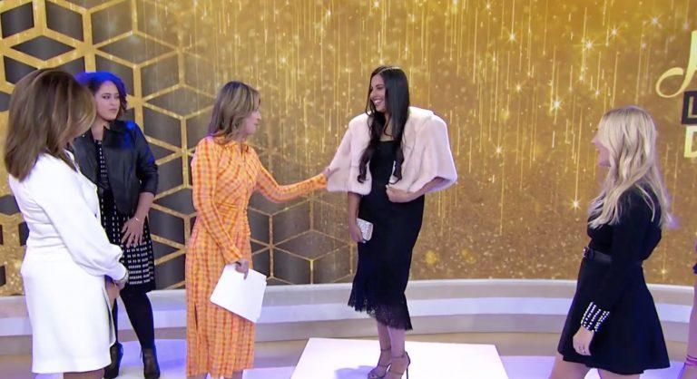 Kanika Chadda Gupta on the TODAY Show with Savannah Guthrie and Hoda Kotb