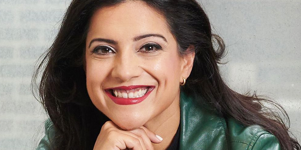 31 Reshma Saujani on Thats Total Mom Sense with Kanika Chadda Gupta - Featured girls who code